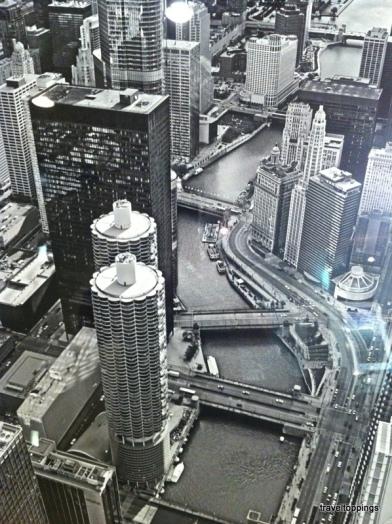 Vista Aerea de los canales internos de Chicago